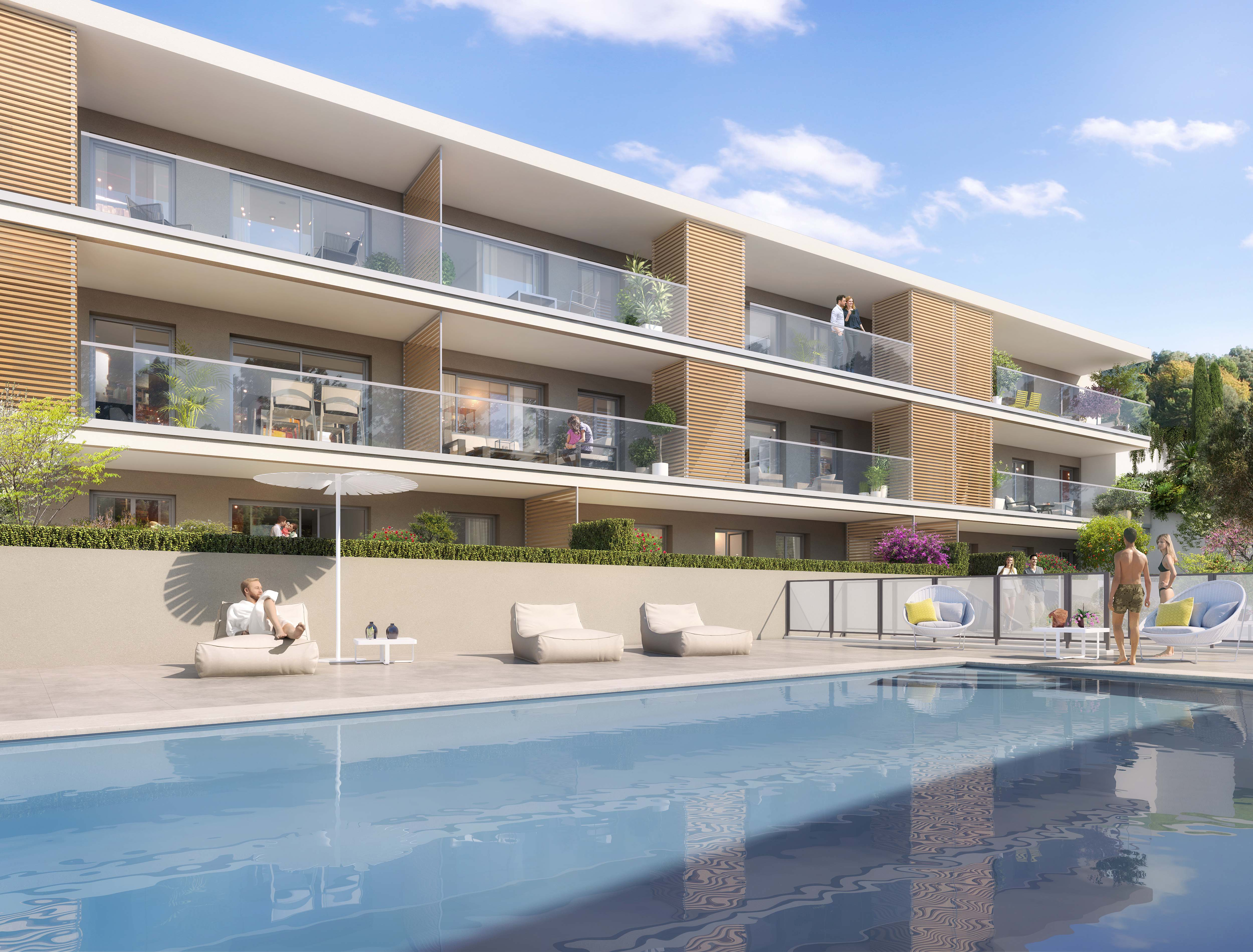 achat appartement neuf Riviera